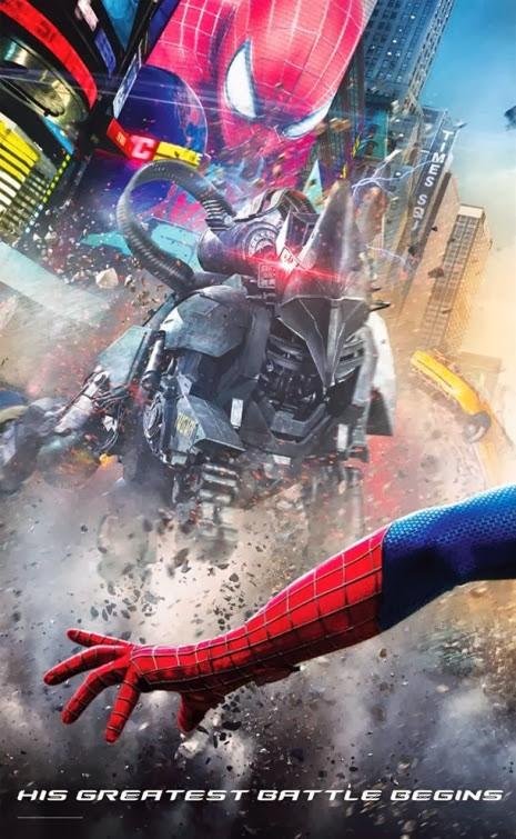 A csodálatos pókember 2 bannerje poszterekre szedve 01