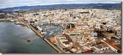 Faro, vista aérea