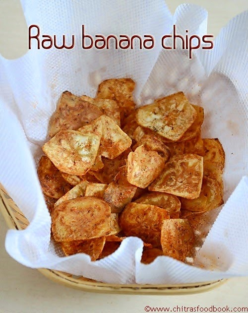 Vazhakkai chips recipe