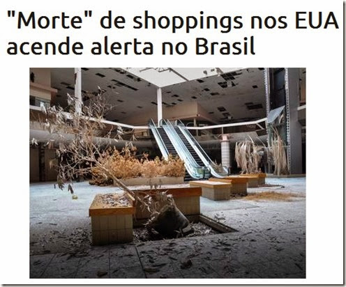 Shopping morto.