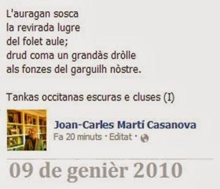 poesia de Joan-Carles