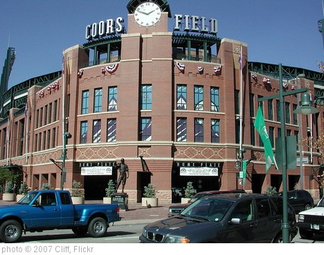 'Coors Field' photo (c) 2007, Cliff - license: http://creativecommons.org/licenses/by/2.0/