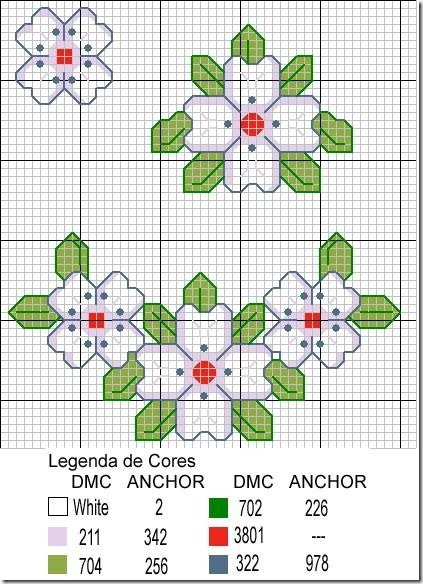 Ponto Cruz-Cross Stitch-Punto Cruz-Punto Croce-Point de Croix-295
