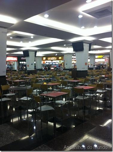 Cataratas JL Shopping Praça de Alimentacao