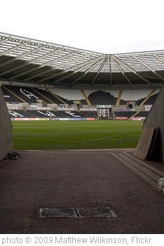 'Liberty Stadium, Swansea, Glamorgan, Wales.' photo (c) 2009, Matthew Wilkinson - license: http://creativecommons.org/licenses/by-nd/2.0/