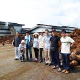 写真1 Bintulu近郊のKeresa社操業地内にある搾油工場 / An oil mill on the property of Keresa company
