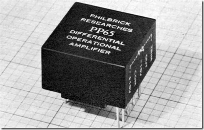 The GAP/R model PP65 potted module solid-state op amp