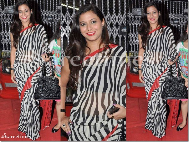 Animal_Print_Saree