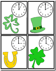 shamrock clocks