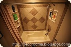 Керамическая плитка в декоре ванной 1