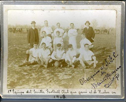 El Sevilla FC Mesina en 1909