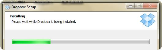 Instalando Dropbox