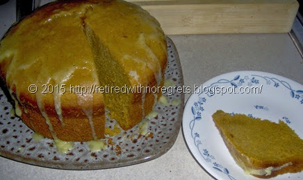 Slow-Cooker Pumpkin Cake - Gluten Free