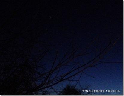 Venus-Jupiter mars 2012