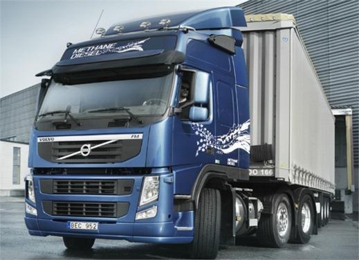 Camiones Volvo FM MethaneDiesel