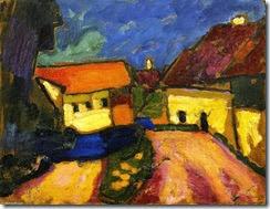 Alexei-Jawlensky-Landscape-Sketch-Village-Road