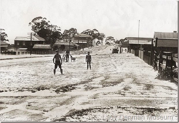 75-Owen-Street-after-hailstorm-1937