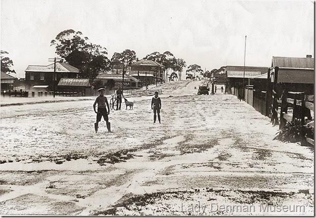 75-Owen-Street-after-hailstorm-1937