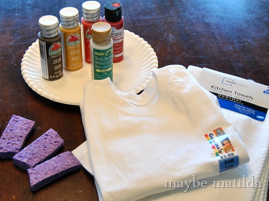 Make a Turkey Handprint Shirt for Thanksgiving