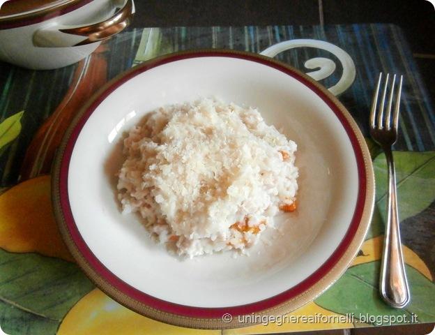 risotto tacchino ragù fiori zucca limone riso primo