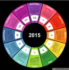 круг календарь 2015