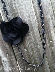chain ribbon necklace tutorial[4]
