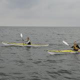 Jonas og Sidsel på kajaktur i det sydfynske hav