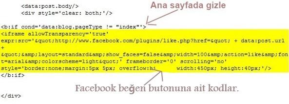 facebook-beğen-düğmesini-ana-sayfada-gizle