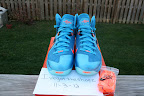 nike lebron 9 ps elite lebron pe china 3 01 Closer Look at Nike LeBron 9 P.S. Blue Flame and Tennis Balls PEs