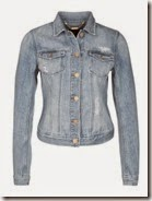 7 For All Mankind light blue denim jacket