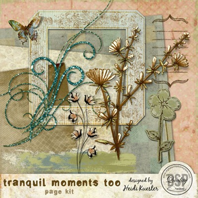 Tranquil Moments 2 Page Kit