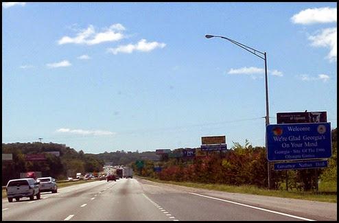 05 - Back in Georgia and Eastern Time Zone, I-75