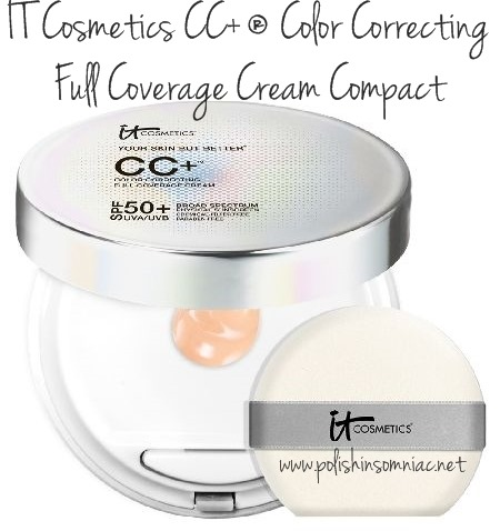 IT Cosmetics CC ® Color Correcting Full Coverage Cream Compact