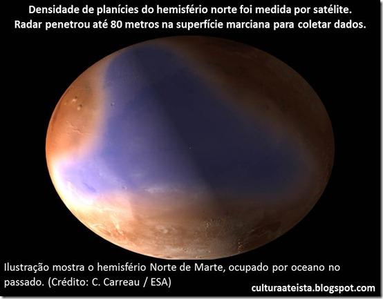 Marte e seu oceano