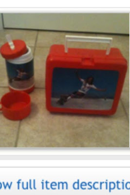 The 2nd pic. of Robin on the lunch box along with a cup!