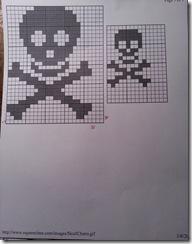 skull n crossbones chart