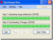 Salvare in automatico nel PC tutte le immagini di una pagina internet con OpenImage