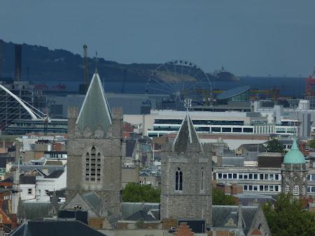 Obiective turistice Irlanda: panorama Dublin din fabrica Guiness