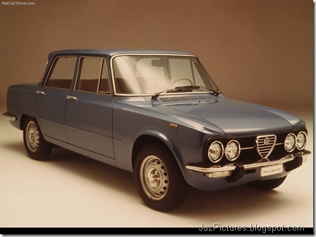 Alfa Romeo Giulia Berlina 1