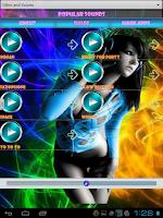 Screenshot of Popular Sounds