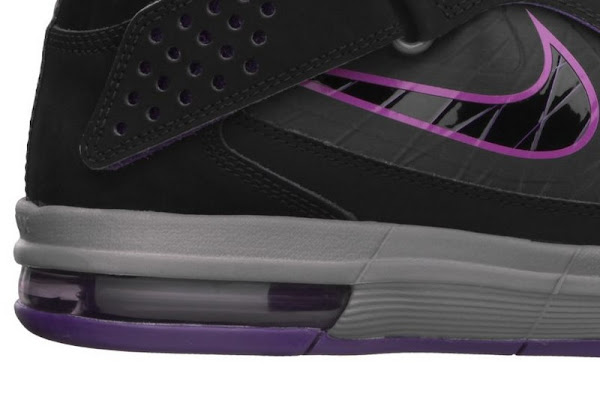 Nike Soldier 5 Black  Purple  Grey Available at Nikestore