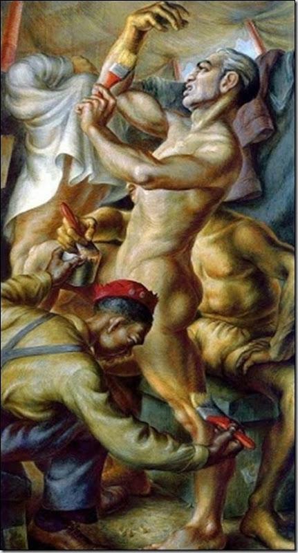 Paul Cadmus, Gilding the Acrobats, 1935