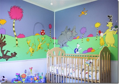 Seuss Mural Nursery brandibug blogspot 
