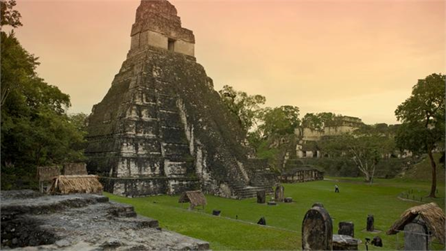 Mayan ruin in Guatemala. Michele Falzone / Photographer's Choice / Getty Images