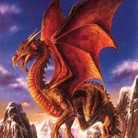 dragon rojo-huevo