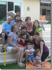 sonia, colucho y familia