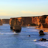 The 12 Apostles At Sunset - Great Ocean Road, Australia