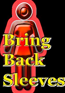 Bring-back-sleeves symbol