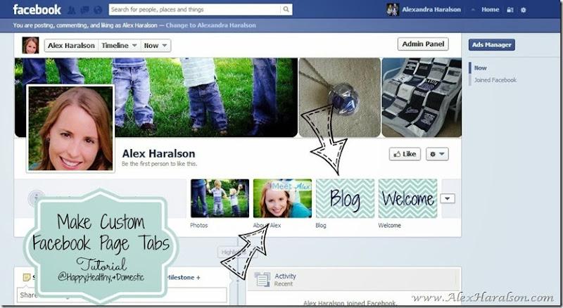 14 Custom FB app tabs TADA2