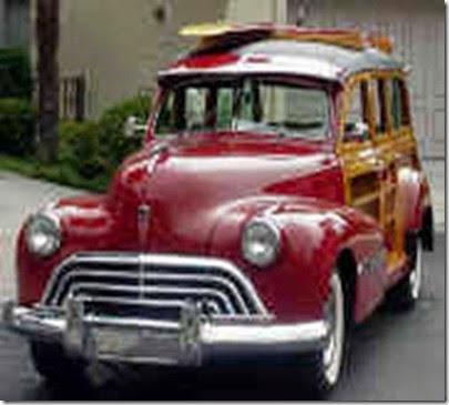 1946 Olds special woodie